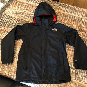 d11dbdf6956e Boys North Face Hyvent Rain Jacket 10 12